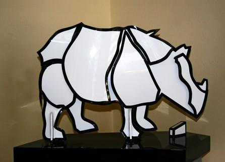 Rhinocerus by Stephen Clegg, www.CleggArt.com